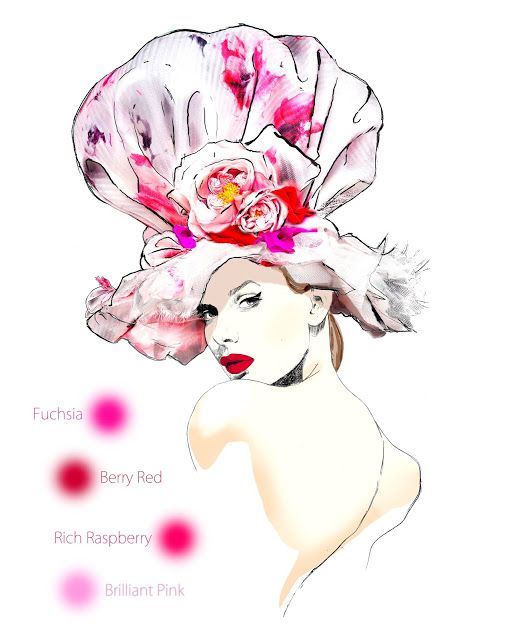 Coture clipart workshop Atelier Illustration 187 Millinery Inspiration