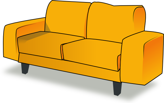 Interior Designs clipart sofa set Art Free Clipart Free Couch