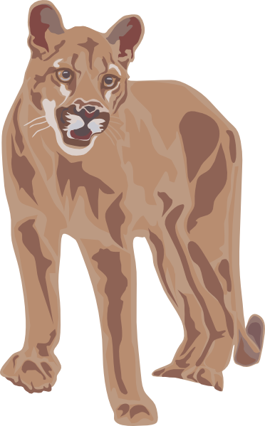 Cougar clipart Clipart 3 Art Pictures Free