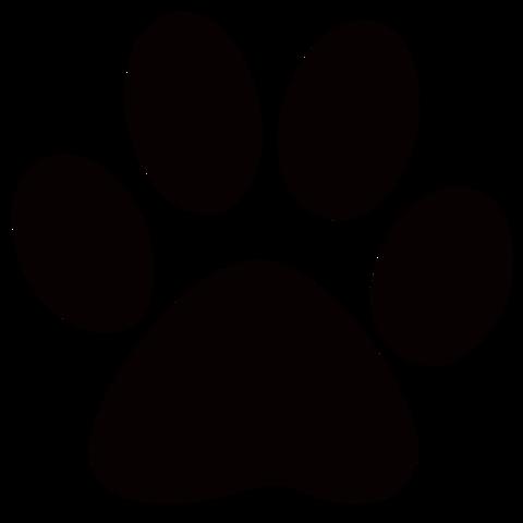Dead clipart cougar Png Clans paw clip art