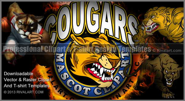 Soccer clipart cougar Com on Clipart Cougar Clipart