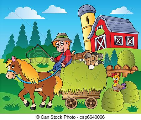 Countyside clipart side view Country Clipground country clipart clipart