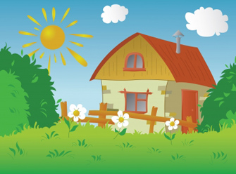 Countyside clipart summer scenery Country by Clipart clipart Clipart