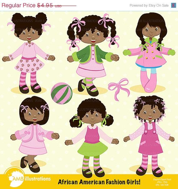 Country clipart african child Skin clipart American clipart on