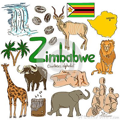 Country clipart african music Stock Zimbabwe Zimbabwe on CountriesScience