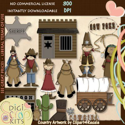 Country clipart animated Country Western Pinterest on Art