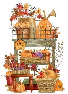 Country clipart autumn ♡ Knott Diane by Pinterest