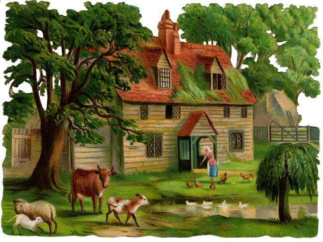 Country clipart beautiful house Cliparts country Zone little Country