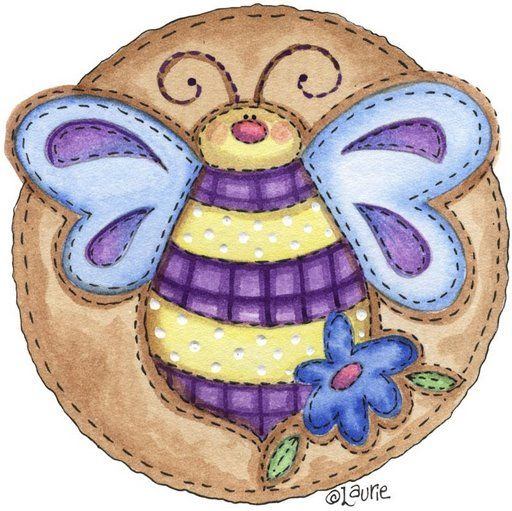 Country clipart bee ART CLIP BEE art COUNTRY