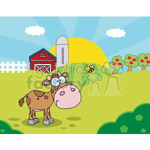 Country clipart bee Baby Baby bee Scene Country