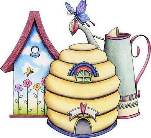 Country clipart bee Hive watering Pinterest images 147
