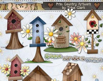 Bird House clipart birdie Art Clip Clark Birdies Studio