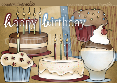 Country clipart birthday  Collection at Happy Clipart