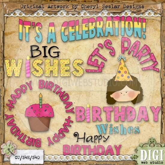 Country clipart birthday Seslar Greetings Seslar Girl Cheryl
