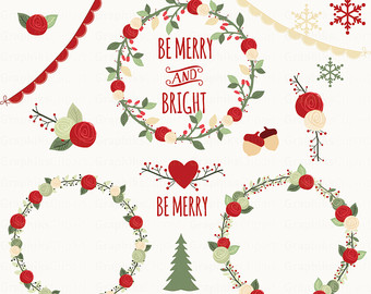 Country clipart christmas ornaments Vintage Clipart 16 Clipart