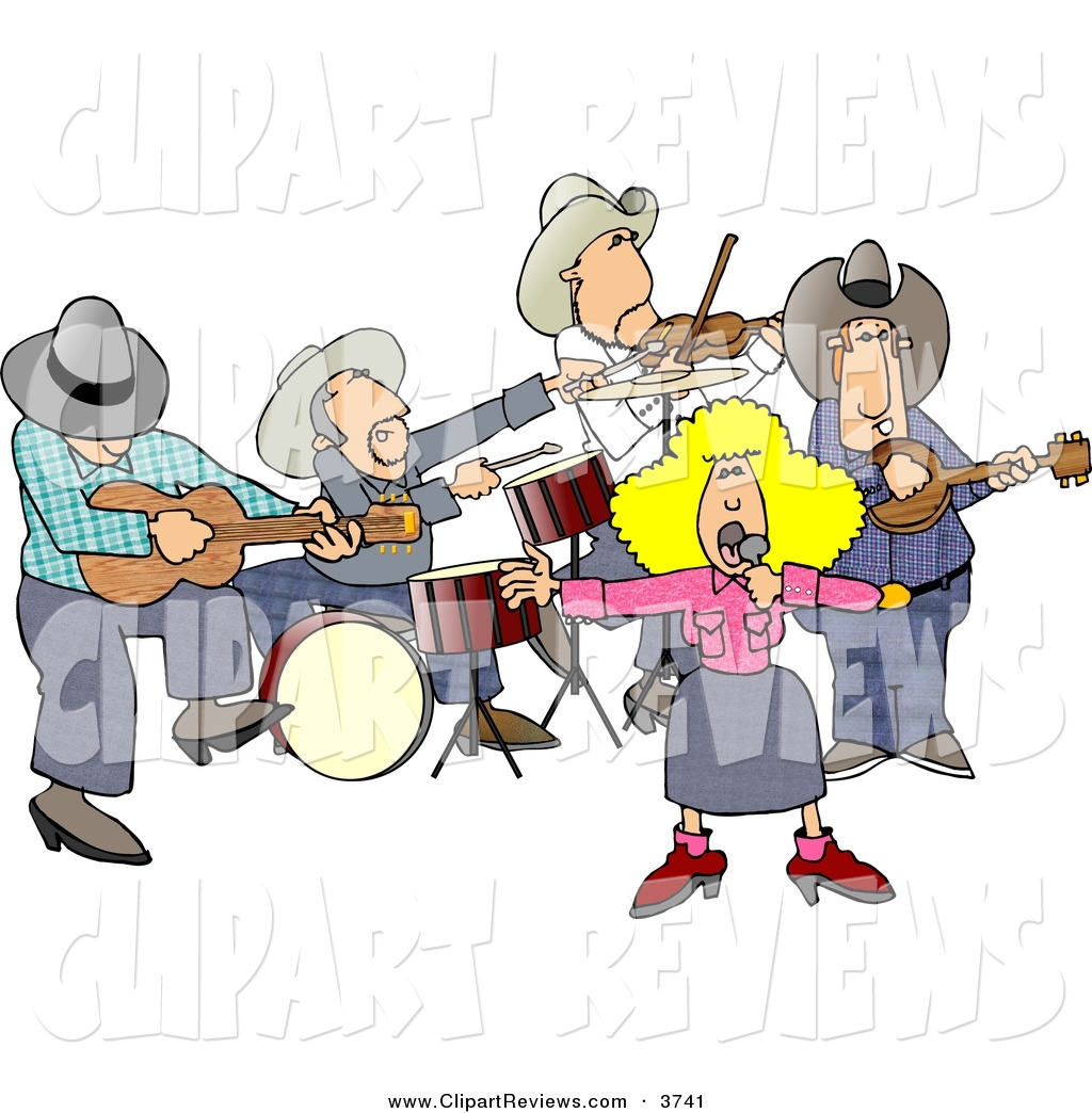 Country clipart country singer Music Clip music western Country