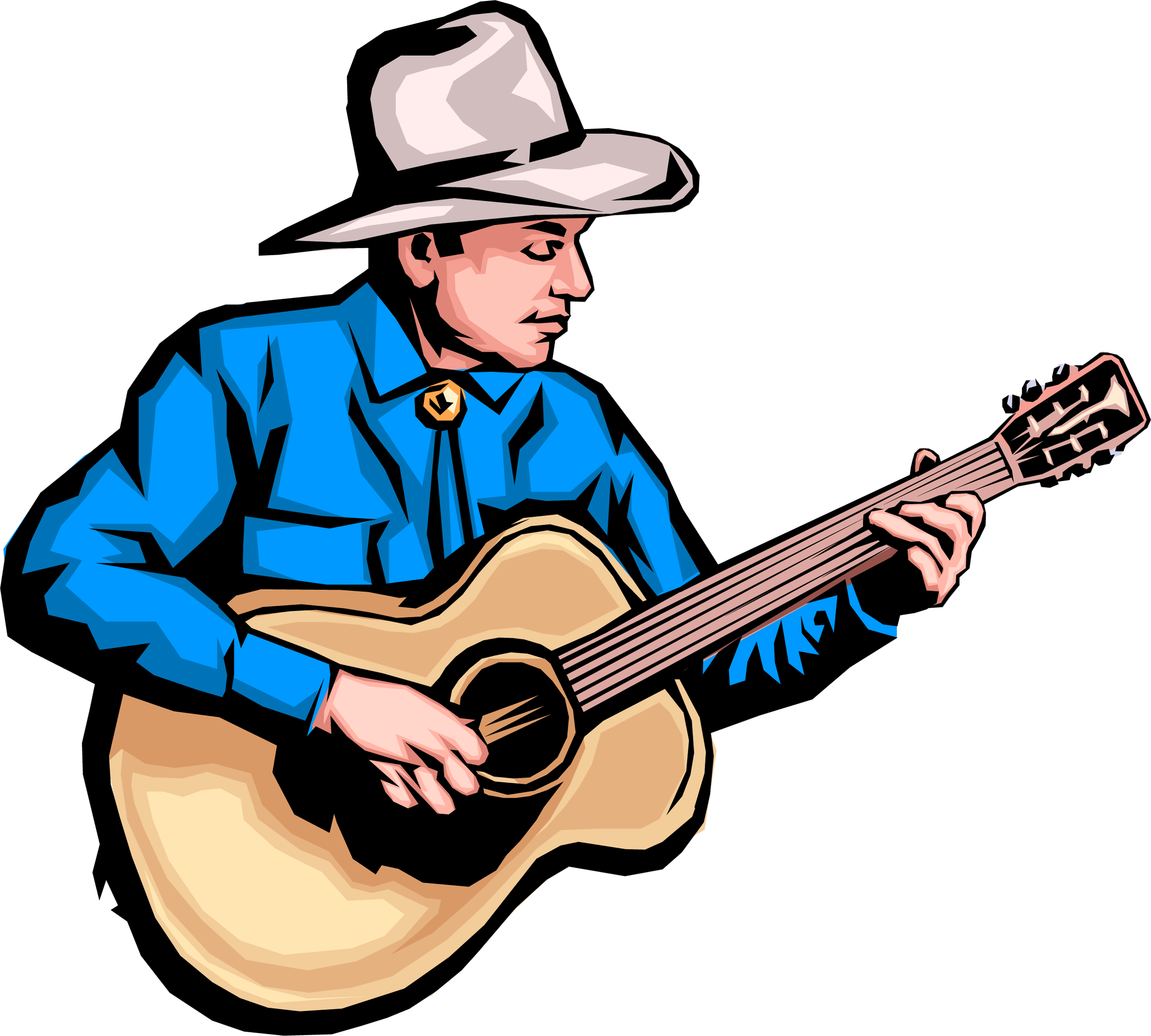 Country clipart country singer Clipart Collection Guitar of Music