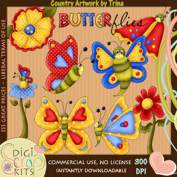 Country clipart country store Butterfly Clipart Official 00 Clipart