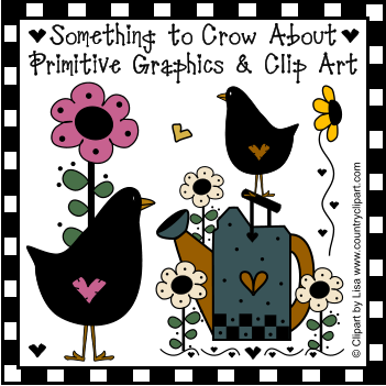 Country clipart crow Collection About Something Clip Primitive