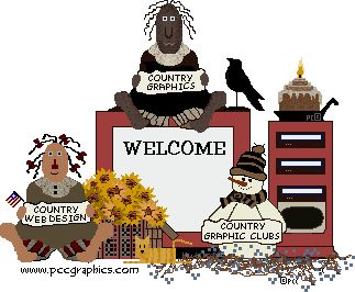 Country clipart crow Art Free primitive best Art