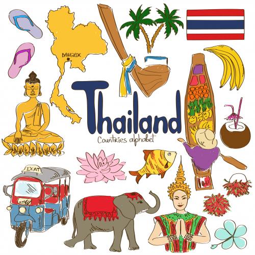 Thai clipart thailand Geography Culture Kenya Thailand