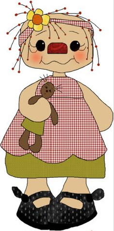 Doll clipart country DOLL  PRIMITIVES DOLL COUNTRY