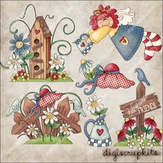 Country clipart garden background My Image free 1 Clip