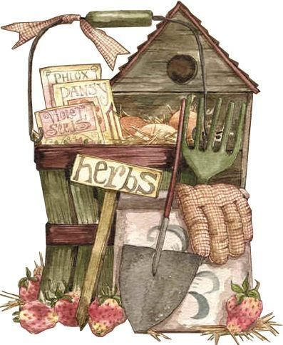 Country clipart garden shed Pinterest clip 397x483px Countryt In