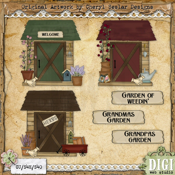 Country clipart garden shed Sheds Potting Cliparts Zone Shed