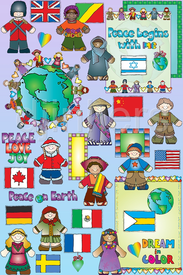 Continent clipart kid  Matching J of Dianne
