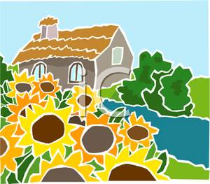 Country clipart landscape Clipart With Landscape Royalty Free