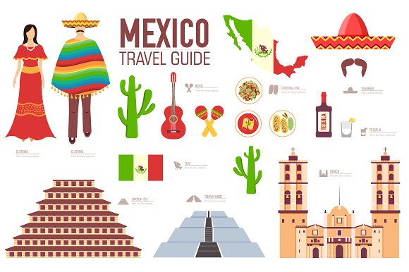 Country clipart mexico Vector country on Creative icons