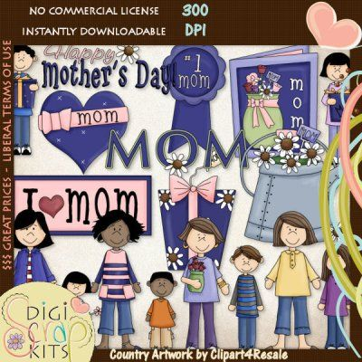 Country clipart mothers day Images Art :: and best
