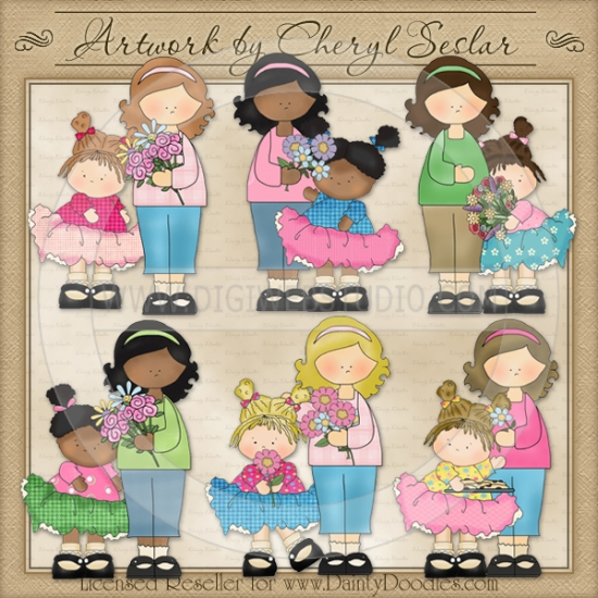Country clipart mothers day Country Cheryl Mother's Beauties Mother's