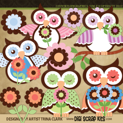 Country clipart owl Graphics 2 Spring Life Owls