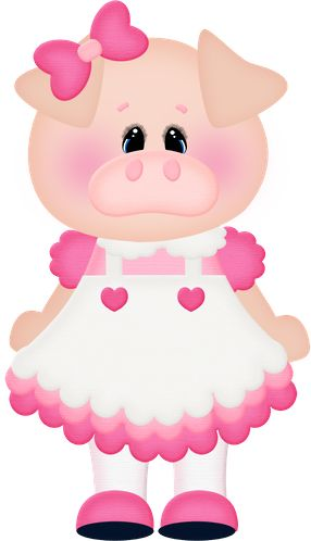 Mommy clipart pig #15