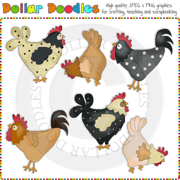 Country clipart primitive Doodles [RS98192] Download 00 Country