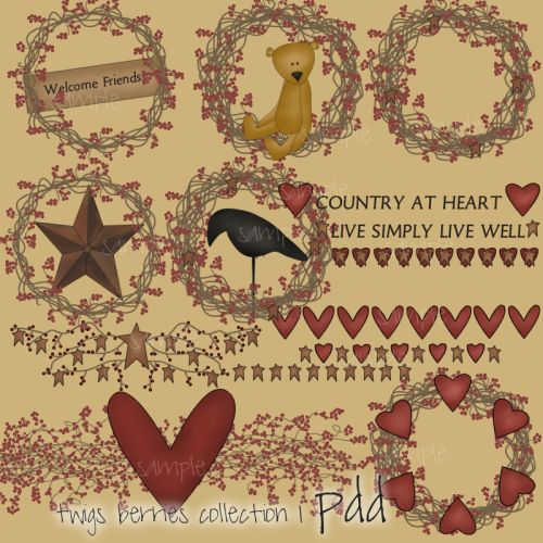 Country clipart primitive On best 79 country Find