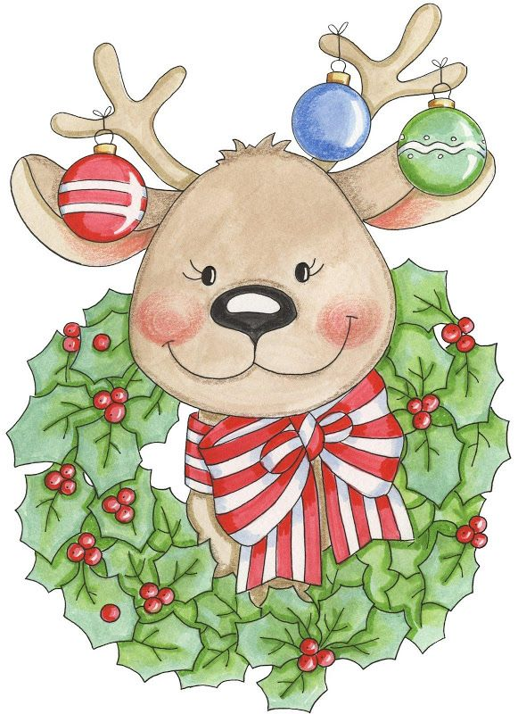 Country clipart reindeer On · Art Carla Web