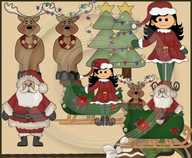 Country clipart reindeer Friends Clip Reindeer Reindeer Country