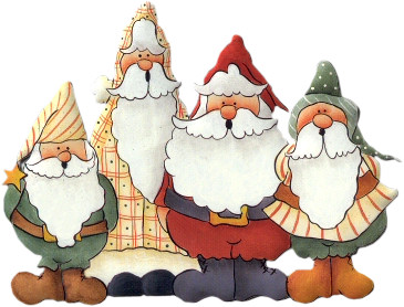 Country clipart santa Illustrations Santa Pin Pinterest Luanart