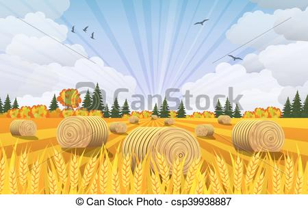 Feilds clipart countryside Of on  with csp39938887