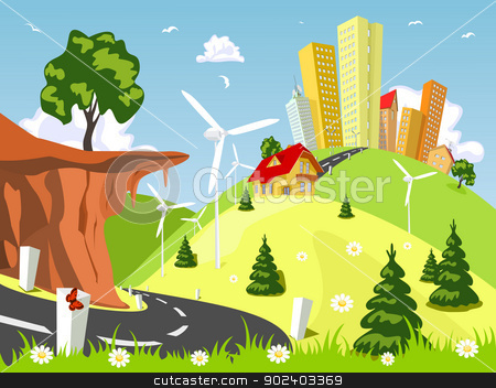 Countyside clipart kapatagan Clip Countryside  Clipart clipart