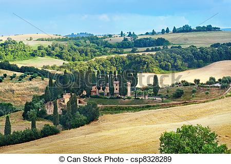 Countyside clipart landscape photography  Tuscany countryside countryside Photographs