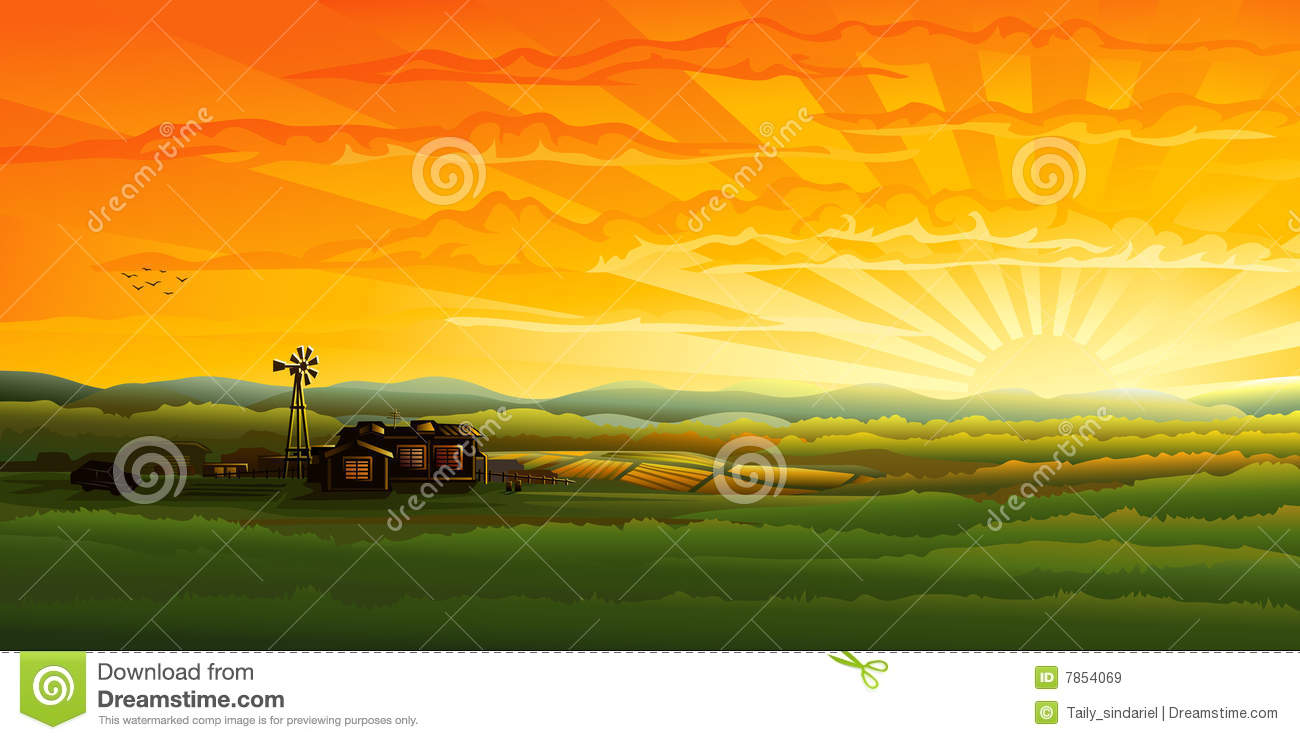 Countyside clipart meadow Countryside drawings Countryside clipart Download