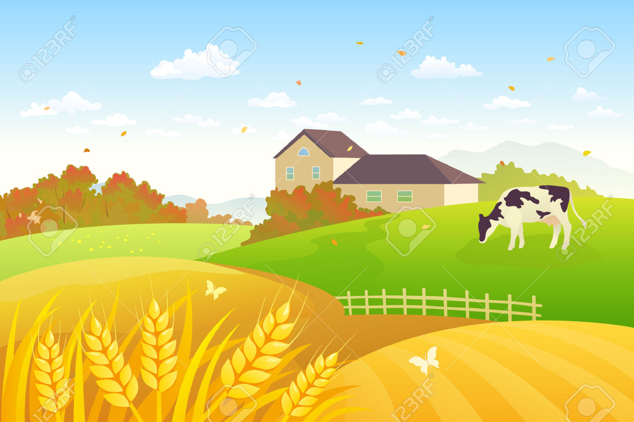 Feilds clipart countryside Countryside drawings #4 clipart Download