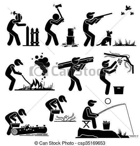 Countyside clipart rural life Of Clipart Lifestyle csp35169653 Rural