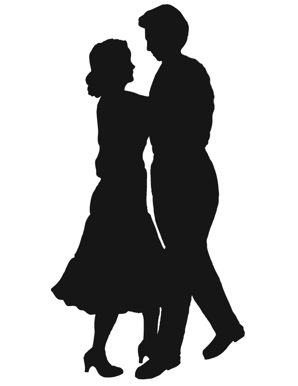 Kopel clipart garba Couple Silhouette  Free 20clipart