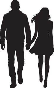 Kopel clipart couple holding hand #8 Download drawings clipart Couple