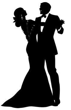 Couple clipart black tie By  Caricatures Theodor couple